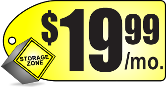 $19.99 special offer on storage units in Lubbock at Lubbock Storage Zone